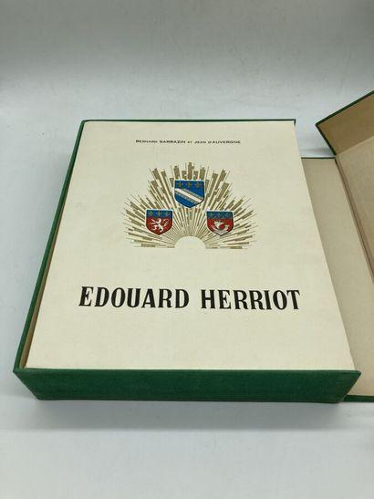 EDOUARD HERRIOT. 1 ouvrage sous emboitag...