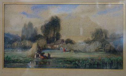 Alexandre Gabriel Decamps (1803-1860).  Le...