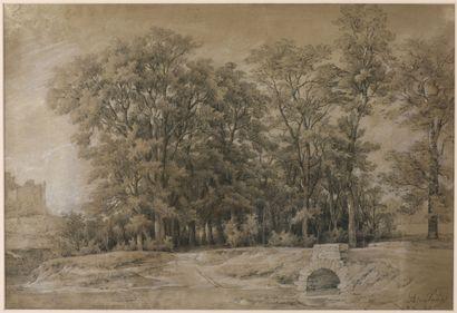 Jean-Antoine DUCLAUX (1783-1868).  Bois de...