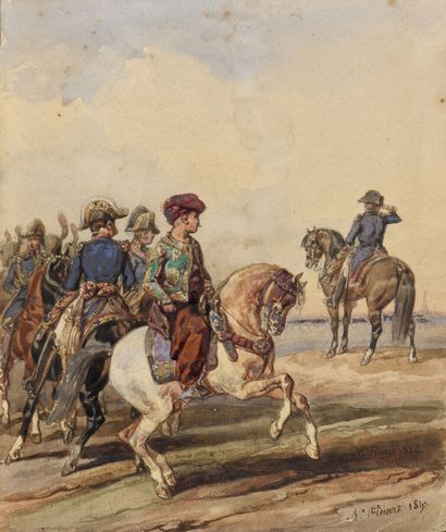 Noël-Dieudonné FINART (1797-1852)  Napoléon...