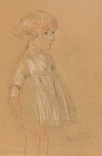 Louis Icart (1888-1950)  Portrait de Reine...