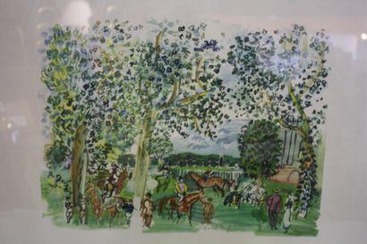 Raoul Dufy (1877-1953) D'après  Sur le champ...