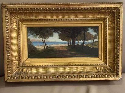 Auguste ANASTASI (1820 - 1889)  Chemin de...