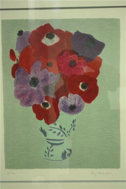 Pierre BONCOMPAIN (né en 1938)  Bouquets...