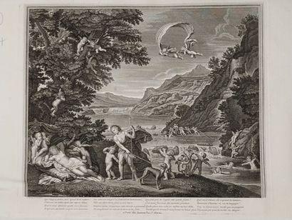 Ecole française du XVIIIe siècle, Imagerie...