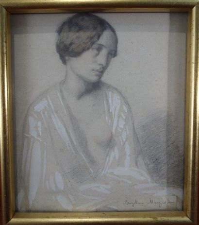 Atribué à Ernest Antoine Hébert (1817-1908)...