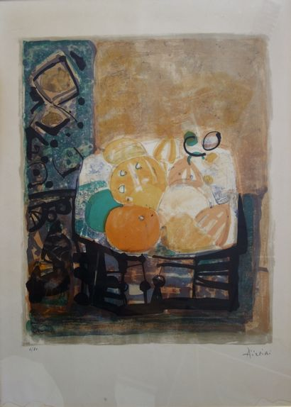 Paul AIZPIRI (1919 - 2016)  Composition....