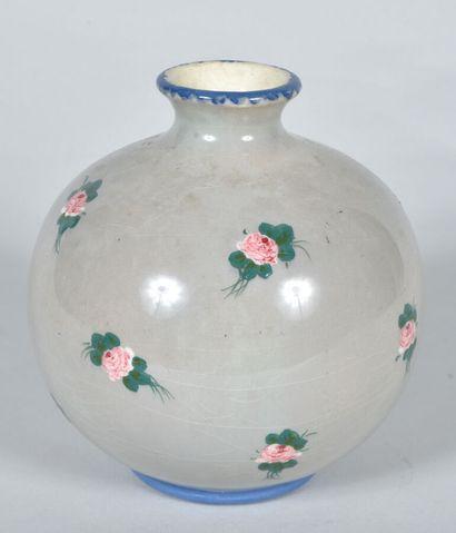 Jérôme MASSIER (1850-1926) - VALLAURIS  Vase...