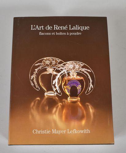 L'Art de René Lalique flacons et boites à...