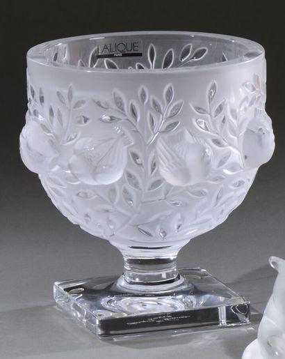 CRISTAL LALIQUE  Vase