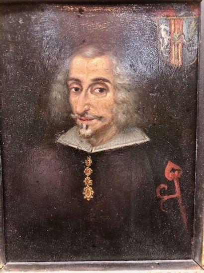 École espagnole de la fin du XVIIème siècle....