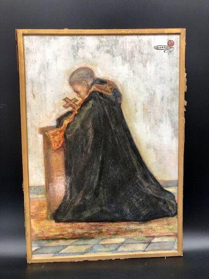 Alfred Delaunois (1875 - 1941)  Bénédictin...