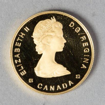 CANADA  100 DOLLARS 1985 (mouflon d'Amérique)...