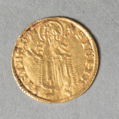 HONGRIE  LOUIS I 1342 /1382  Florin d or...