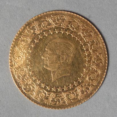TURQUIE  250 PIASTRES 1964 (monnaie de luxe)...