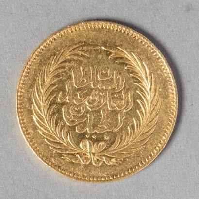 TUNISIE  ABDUL MEJID ( 1859-1860 ) 1276 (1859-60)...