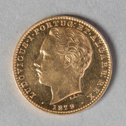 PORTUGAL  LOUIS I ER : 10000 REIS 1879 ,...