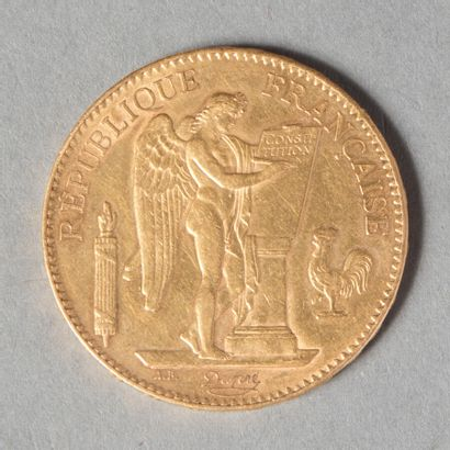 IIIeme REPUBLIQUE  100 F 1882  32 gr 24  G...