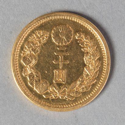 JAPON  MEIJI: 20 YEN AN 30 (1897)  16 gr...