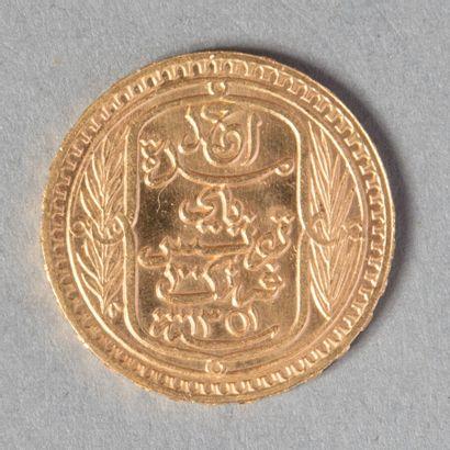 TUNISIE  PROTECTORAT 100 F 1932 (1351) 3000...