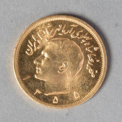 IRAN  REZA PAHLAVI :2,5 PAHLAVI 1355; 16000...