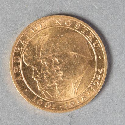 ROUMANIE  LES 3 ROIS (médaille monétiforme)...