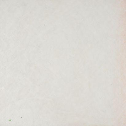 Jacques DEKERLE (né en 1944).  Petit pois, ambre rose  Huile sur toile.  Signé et...