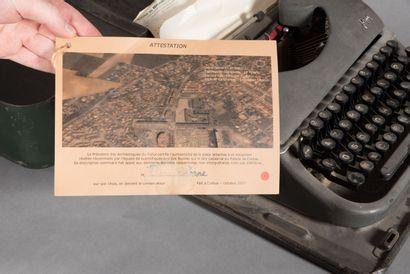 Christian TOBAS (né en 1944).  Mécascriptophilæ, issue de la série «Les Archéologues...