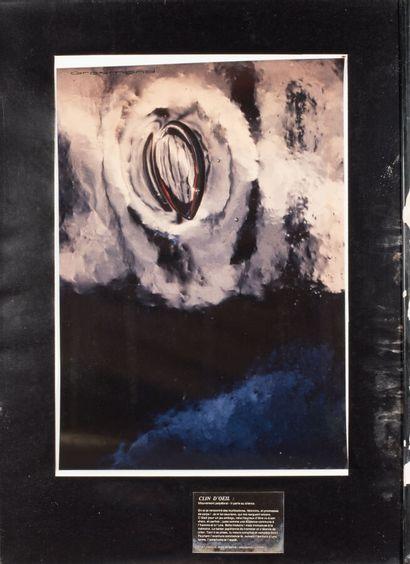 Gilles GROSMOND (XX7me-XXIème).  Sans titre, 1985.  Tirage photographique sur papier....
