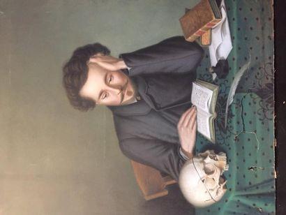 BEFFEGG?, écrivain (Alfred de Vigny?) à...