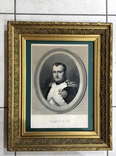 Gravure, Napoléon, Charles Steube pinx et...