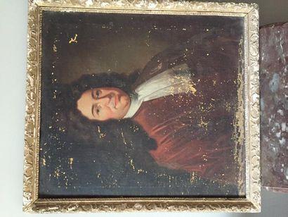 Ecole française portrait de Noble Jacques...