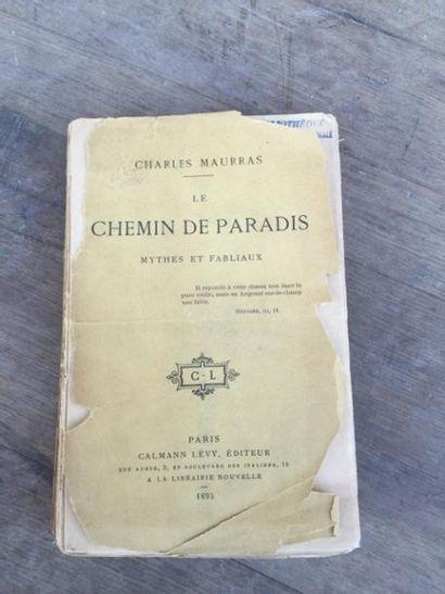 Un livre : les Chemins de Paradis de Charles...