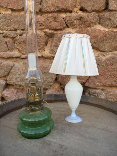Deux lampes