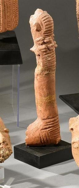Statuette Bankoni ( ?), Mali Terre-cuite...