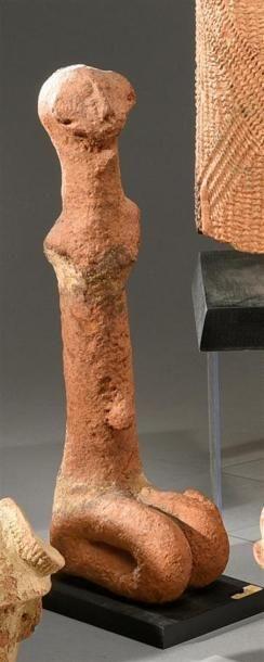 Statue Bankoni, Mali Terre cuite à engobe...