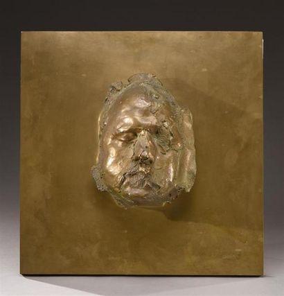 César (1921-1998) Autoportrait, 1968 Bronze...