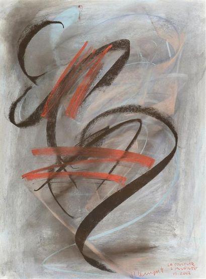Jean-Louis Bernezat (né en 1936) «La couleur...