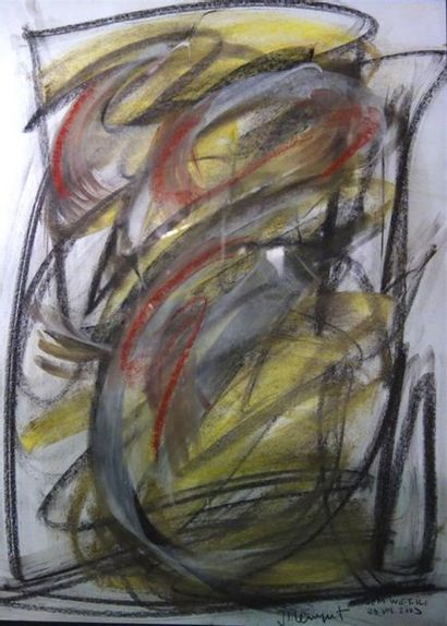 Jean-Louis Bernezat (né en 1936) «Isem we.t.ili»...