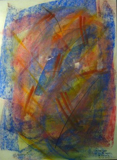 Jean-Louis Bernezat (né en 1936) «La prison...