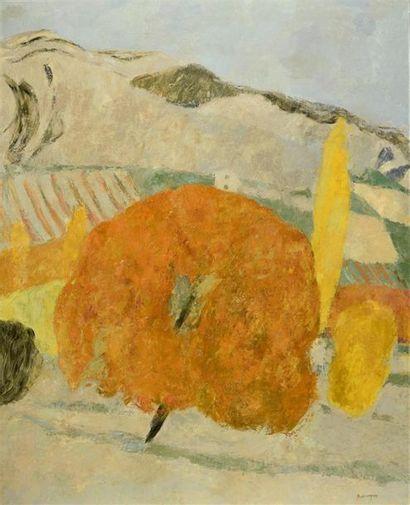Pierre Boncompain (né en 1938) «Automne...