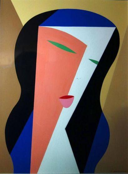 Paul Bernezat (1896-1987) «La belle aux...