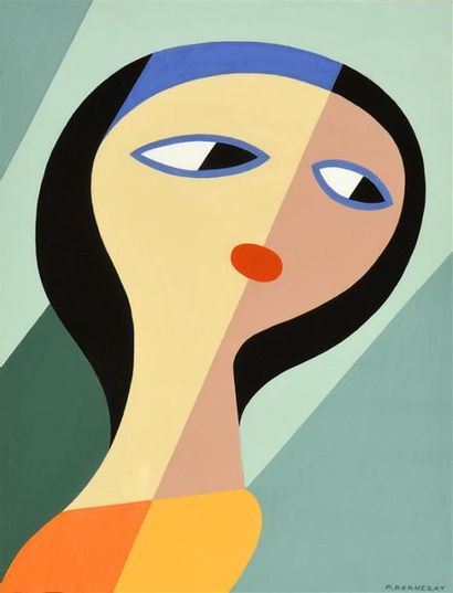 Paul Bernezat (1896-1987) «Le regard en...