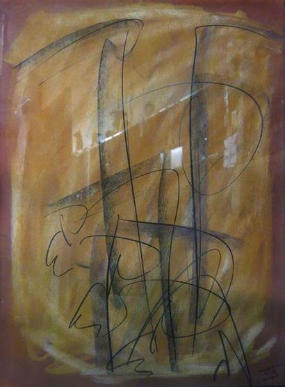 Jean-Louis Bernezat (né en 1936) «Immidir...