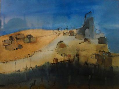 Bernadette Chatouillot (XXème siècle) «Hoggar....