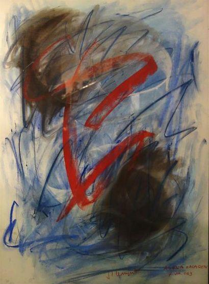 Jean-Louis Bernezat (né en 1936) «Agena...
