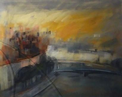 Bernadette Chatouillot (XXème siècle) «Pont...