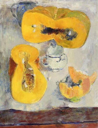 Pierre Boncompain (né en 1938) «La table...