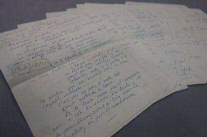 FRONT POPULAIRE. Léon BLUM. Manuscrit autographe,...
