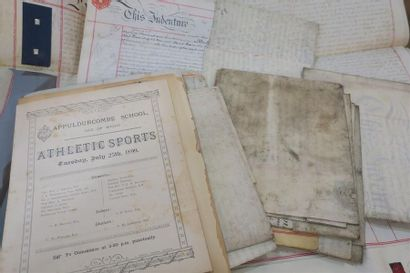 ANGLETERRE & SPORTS. Une douzaine de documents...